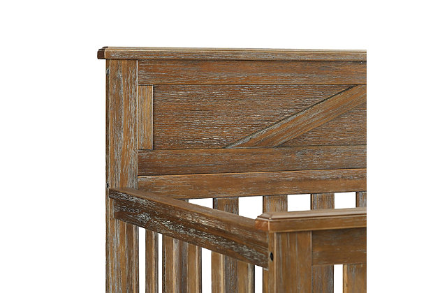 Baby Relax Hathaway 5-in-1 Convertible Wood Crib, , large