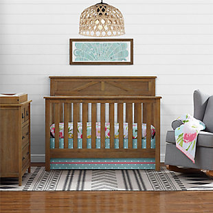Baby Relax Hathaway 5-in-1 Convertible Wood Crib, , rollover