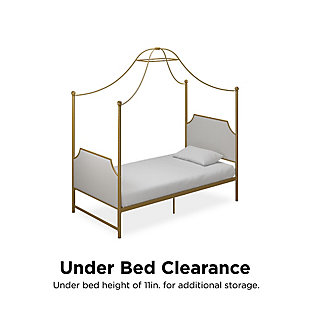 Little Seeds Monarch Hill Canopy Bed, , large