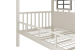 Little Seeds Rowan Valley Forest Loft Bed, Gray, large