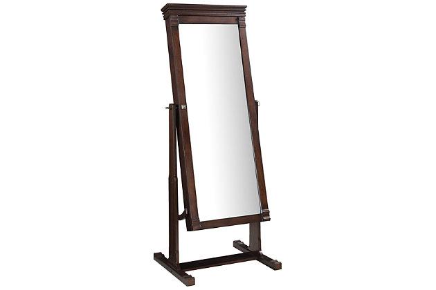Linon Leah Metal Mirror, , large