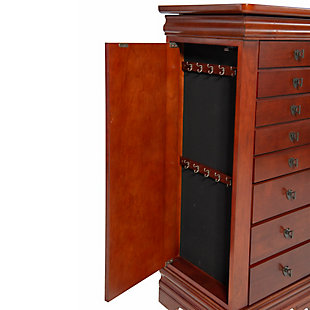 Powell Flip-top Jewelry Armoire, , rollover