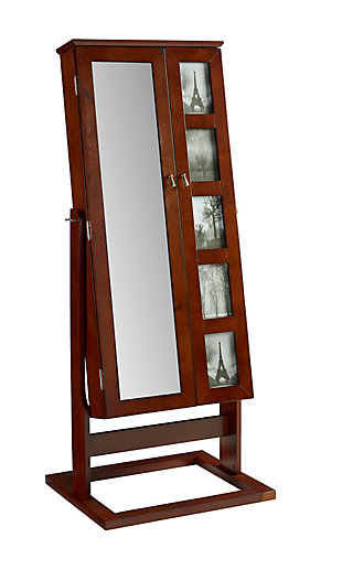 Cheval Photo Armoire, Black, large