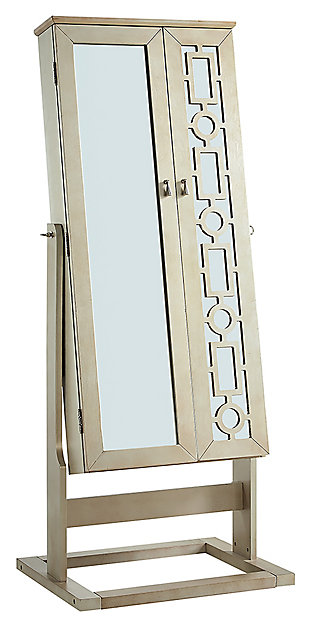 Powell Shimmer Cheval Mirror, , large
