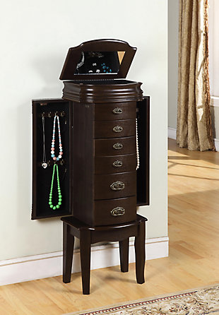 Powell Jewelry Armoire, , rollover