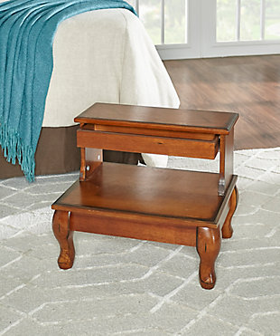 2-Step Bed Step Stool with Storage, , rollover