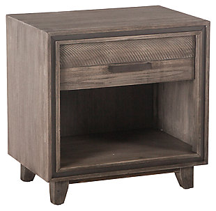 Home Accents 26-Inch Acacia Wood Night Chest, , large