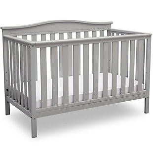 Delta Children Independence 4-in-1 Convertible Crib, Gray, large