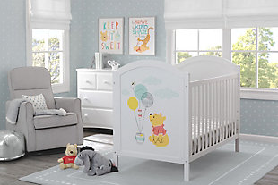 Delta Children Disney Winnie The Pooh 4-in-1 Convertible Crib, , rollover