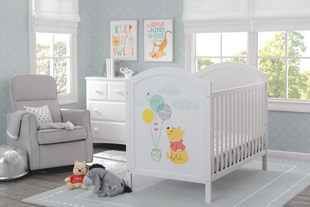 Delta Children Disney Winnie The Pooh 4-in-1 Convertible Crib, , large