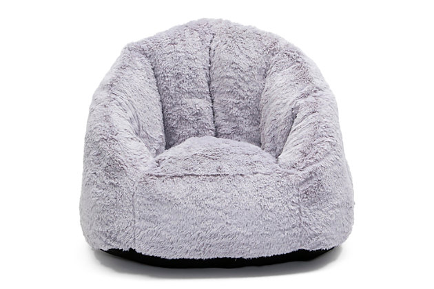 Delta Children Snug Foam Filled Chair, Gray, large