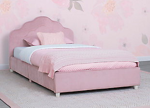 Delta Children Upholstered Twin Bed, , rollover