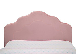 Delta Children Upholstered Twin Bed, , large