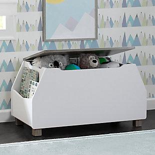 Delta Children Rustic Two-Tone Toy Box, , rollover