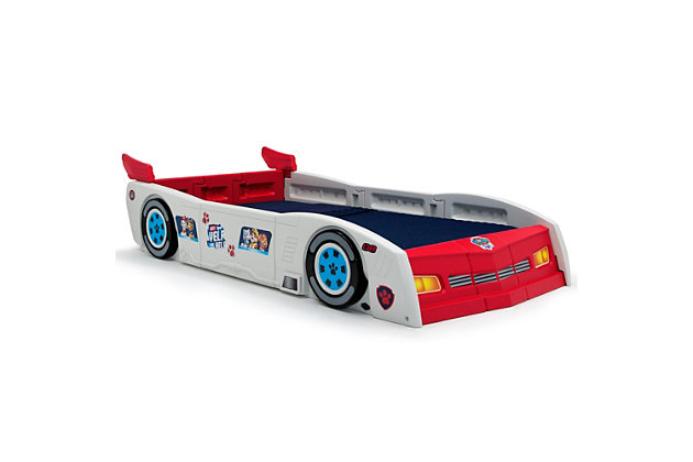 Delta Children Nick Jr. PAW Patrol PAW Patroller Toddler and Twin Car Bed, , large