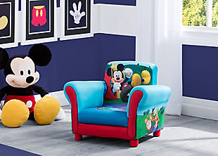 Delta Children Mickey Mouse Upholstered Chair by Delta Children, , rollover