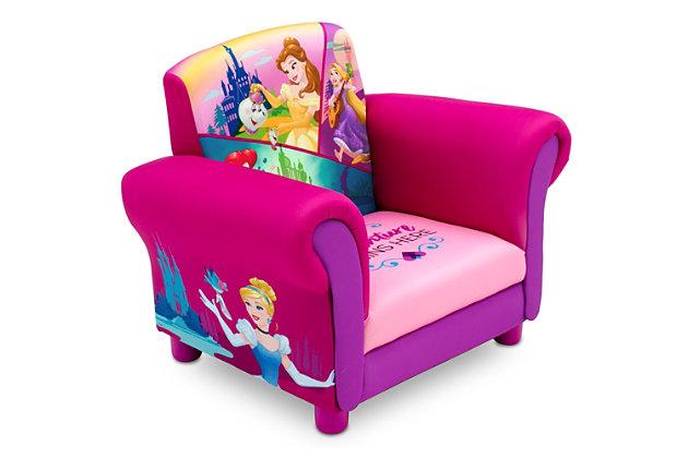 Delta Children Princess Upholstered Chair By Delta Children, , large