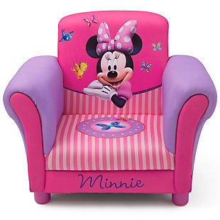 Delta Children Minnie Mouse Upholstered Chair by, , rollover