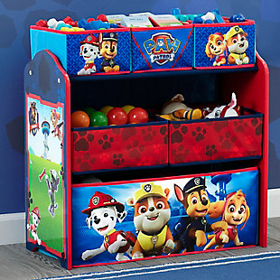 Delta Children Nick Jr. PAW Patrol 6 Bin Design and Store Toy Organizer, , rollover