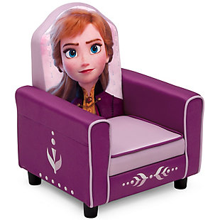 Delta Children Disney Frozen II Anna Figural Upholstered Kids Chair, , large