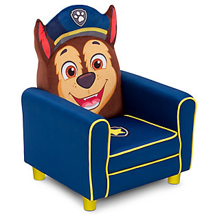 Delta Children Nick Jr. PAW Patrol Chase Figural Upholstered Kids Chair, , large