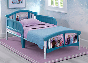Delta Children Frozen II Plastic Toddler Bed by Delta Children, , rollover