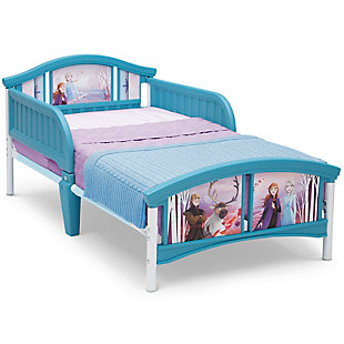 Delta Children Frozen II Plastic Toddler Bed by Delta Children, , large