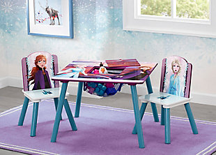 Delta Children Frozen II Table and Chair Set with Storage by Delta Children, , rollover