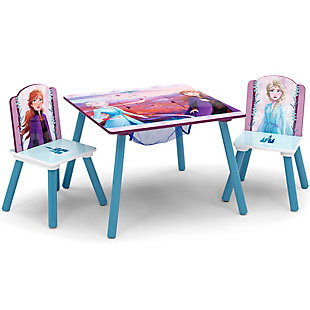Delta Children Frozen II Table and Chair Set with Storage by Delta Children, , large