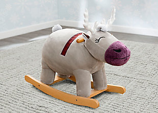 Delta Children Frozen II Sven Plush Rocking Horse by Delta Children, , rollover