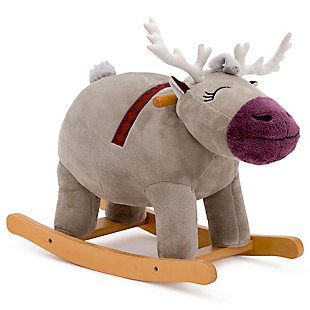 Delta Children Frozen II Sven Plush Rocking Horse by Delta Children, , large