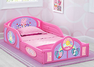 Delta Children Peppa Pig Sleep and Play Toddler Bed by Delta Children, , rollover