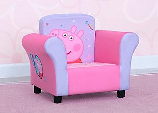 Delta Children Peppa Pig Upholstered Chair by Delta Children, , rollover