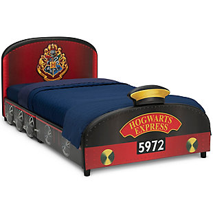 Delta Children Harry Potter Hogwarts Express Upholstered Twin Bed by, , rollover