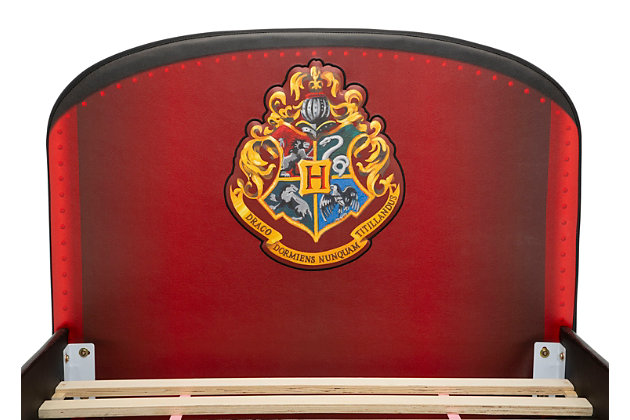 Delta Children Harry Potter Hogwarts Express Upholstered Twin Bed by, , large