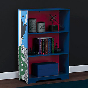 Delta Children Harry Potter Deluxe 3-Shelf Bookcase by, , rollover