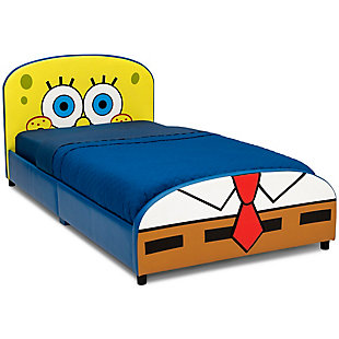 Delta Children SpongeBob SquarePants Upholstered Twin Bed by Delta Children, , large