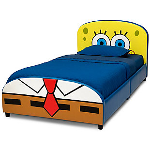 Delta Children SpongeBob SquarePants Upholstered Twin Bed by Delta Children, , large
