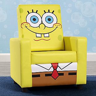 Delta Children Spongebob Squarepants High Back Upholstered Chair By, , rollover
