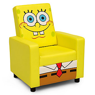 Delta Children SpongeBob SquarePants High Back Upholstered Chair by, , large