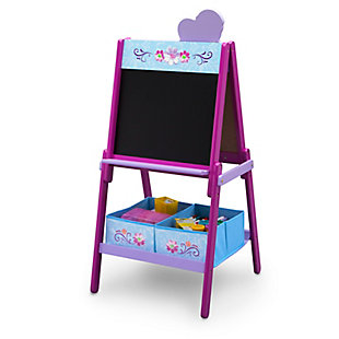 Delta Children Frozen Wooden Double-Sided Kids Easel with Storage by, , large