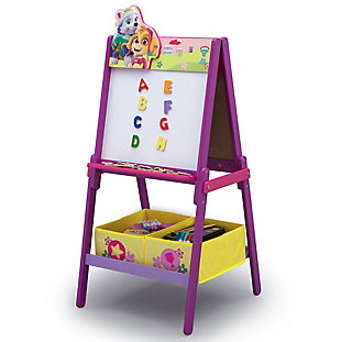 Delta Children PAW Patrol Skye and Everest Double-Sided Kids Easel, , rollover
