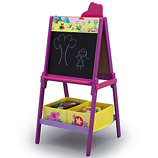 Delta Children PAW Patrol Skye and Everest Double-Sided Kids Easel, , large