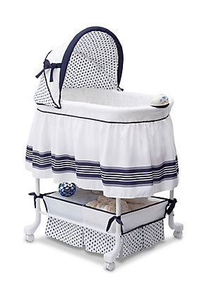 Delta Children Smooth Glide Bassinet, , large
