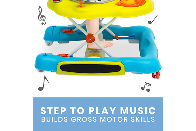 Delta Children 4-in-1 Discover & Play Musical Walker, , large