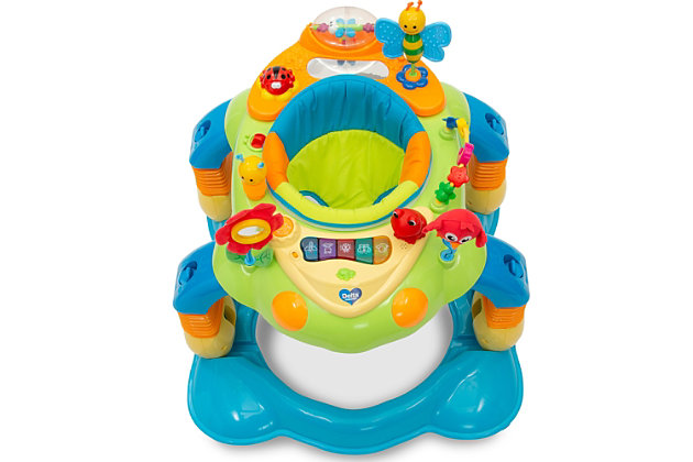 Delta Children Lil' Play Station 4-in-1 Activity Walker, , large