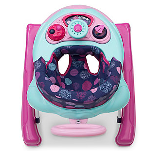 Delta Children First Exploration 2-in-1 Activity Walker, Pink, rollover