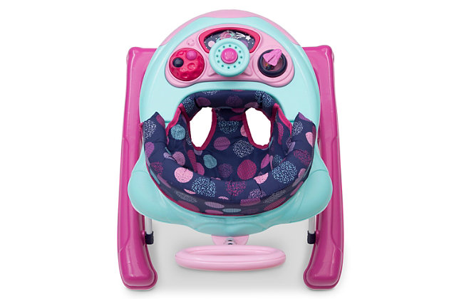 Delta Children First Exploration 2-in-1 Activity Walker, Pink, large