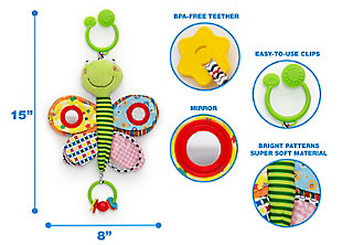 Delta Children Stroller/Car Seat Activity and Teething Toys for Babies, , large