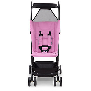 Delta Children Clutch Travel Stroller, Pink, large